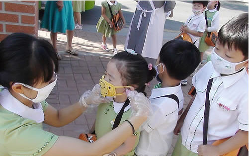 79fcdd7affd 대구지역에서 11월11일부터 실시된 신종플루 백신 단체접종을 받을 각급학교 학생 숫자는 36만9천여명으로 집계됐다. 대구시교육청에  따르면 대구시내 초.중.